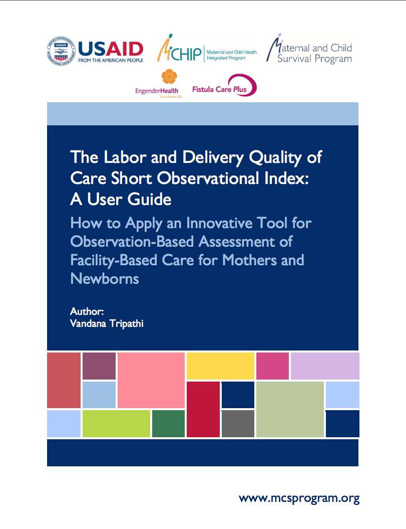 Maternal and Newborn Quality of Care Survey